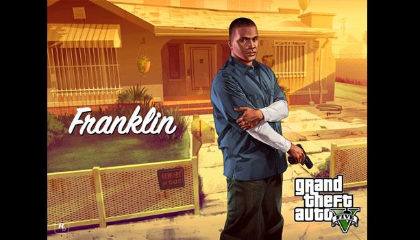 GTA5の主人公『フランクリン・クリントン』はサンアンドレアスの流れを汲んでいるキャラクターである