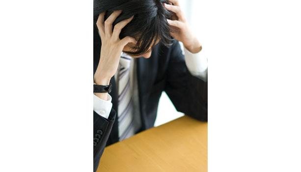【ハゲ・薄毛の原因】ストレス性脱毛症