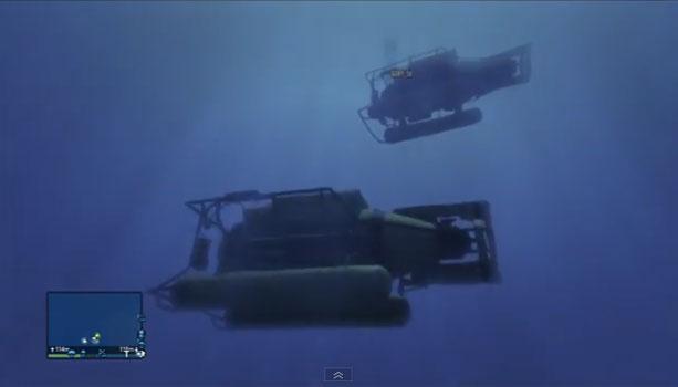 【GTA5】海中を冒険しろ!潜水艦でするべき事まとめ