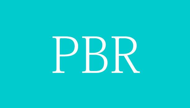 【株用語集】PBR(ピービーアール)
