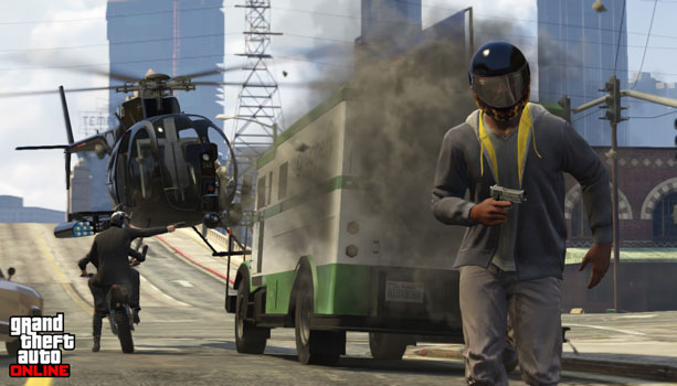【GTA】『ヘルメット』にはヘッドショット被弾時・事故時のダメージを軽減する効果がある