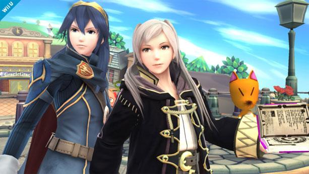 FEの「ルキナ」「ルフレ」が参戦!?大乱闘スマッシュブラザーズ for Nintendo 3DS/Wii U