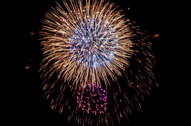 2014年の松江水郷祭の打ち上げ花火が中止へ