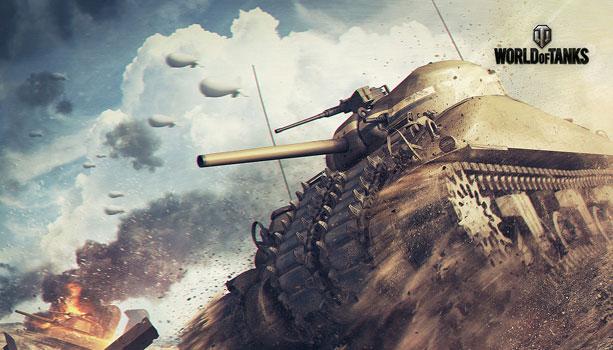 ブラッド・ピット主演映画 「フューリー」が「World of Tanks」に登場!