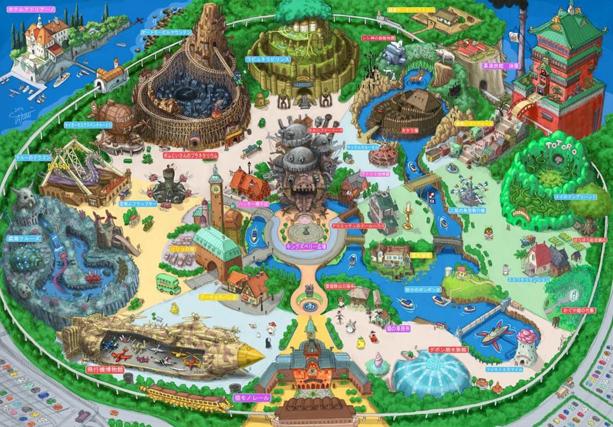 ジブリのテーマパークの構想がすごい!きっと、三鷹の森の美術館の存在感がなくなる。