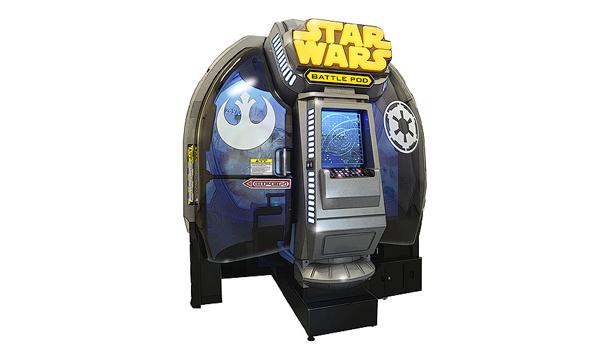 「スター・ウォーズ:バトル ポッド」の筐体を個人向けに販売決定!