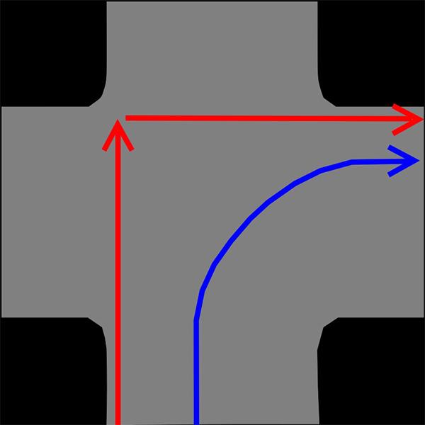 二段階右折 【連載記事第6回】原付の二段階右折と速度